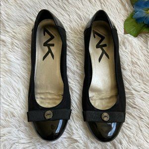 Anne Klein Sport AK Slip On Ballet Flats with Bow
